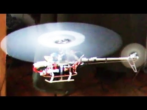 Naked mini remote control helicopter trick = out the window + back * rc * IMG *