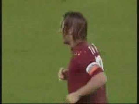 Goles de Totti con la Roma