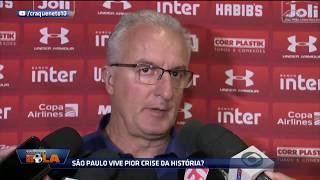 Com aproveitamento de 11% e com 12 pontos conquistados, o São Paulo faz o pior início de Campeonato Brasileiro na era dos...