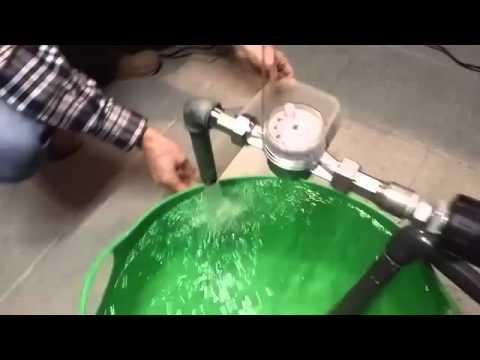 Flusso elevato e pompa autoadescante