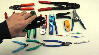 Tools: Aircraft Electrical Tools, basic overview - Youtube - shbruch