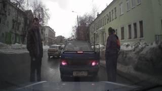Попытка автоподставы в Перми
