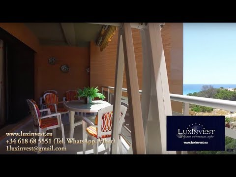 Beautiful apartment on the first sea line in Benidorm (in the bay of La Cala) at a low price!