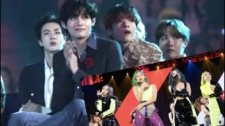 BTS reacts to Mamamoo at MAMA 2019