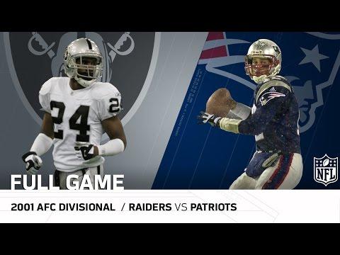 Video: 2001 AFC Divisional Round: Raiders vs. Patriots |