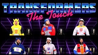 Transformers 5: the Last Knight inspired us to resurrect this ass-kicking awesomely 80s theme song from Transformers: The Movie, acapella!More Acapellas ► http://bit.ly/2tw9t6dSUBSCRIBE! ► http://bit.ly/Sub2TWZThe dope Transformers hoodies were provided by the awesome folks from 80sTees! ► 80ste.es/Transformers-Costume-HoodiesTRANSFORMERS: THE MOVIE ACAPELLA: THE TOUCHIn honor of the release of Transformers 5: the last knight, we thought it would be fun to do an acapella rendition of the awesomely 80s Transformers movie theme song, the touch, by Stan Bush. So rock out with to this tasty nostalgic jam as you recall a time before the Michael Bay movies, when characters like Optimus Prime, Megatron, and Bumblebee were animated and 2D!FEATURINGAlex Faciane - https://www.youtube.com/user/TheNationalDexDavisOdomFishRyanSchroArranged and Mixed by Taylor FugitEdited by Chance Cole- The Warp Zone -Subscribe! http://youtube.com/TheWarpZoneLike us on Facebook! http://facebook.com/TheWarpZoneFollow us on Twitter! http://twitter.com/WarpZoneTweetsFollow us on Instagram! http://instagr.am/WarpZoneGrams