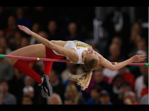 Kamila Licwinko 196 cm. ( Bronze medal. World indoor championship Portland 2016 )