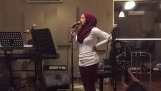 Ziana Zain - Menadah Gerimis ( Rehearsal )