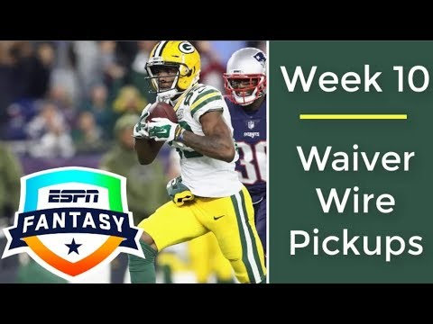 Week 10 Waiver Wire Targets | 2018 Fantasy Football