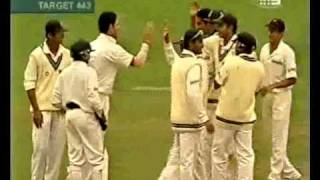 Anil Kumble 12 for 279 (includes 8/141) vs Australia 2004 4th test SCG