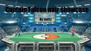 Smash 4 – Captain Falcon nair showcase