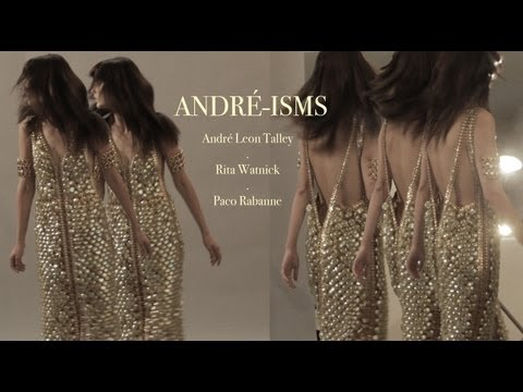 Paco Rabanne -- Noise Couture with Andre Leon Talley and Rita Watnick