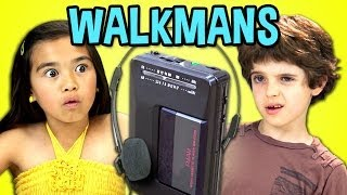 Video KIDS REACT TO WALKMANS (Portable Cassette Players) MP3, 3GP, MP4, WEBM, AVI, FLV Oktober 2018