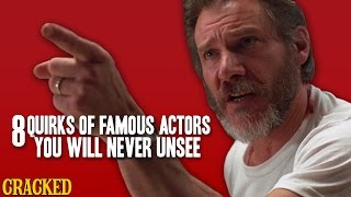 Video 8 Quirks Of Famous Actors You Will Never Unsee  - The Spit Take MP3, 3GP, MP4, WEBM, AVI, FLV Januari 2019