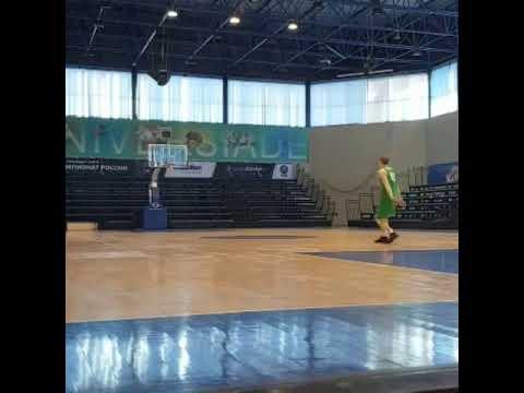 Бросок с центра площадки/Баскетбол/bаsкет/bаsкетbаll - DomaVideo.Ru