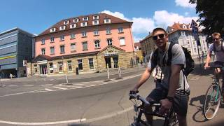 Tubingen Germany  City new picture : Biking to the Park, Tübingen, Germany