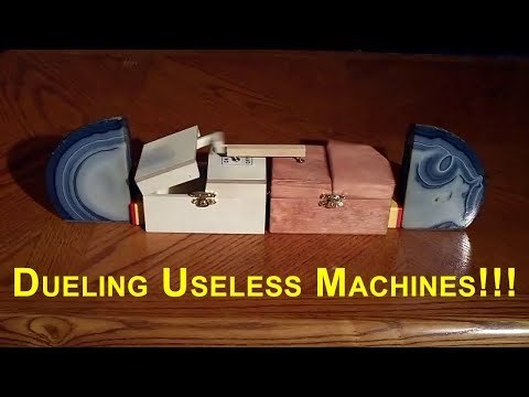 Duelling useless machines