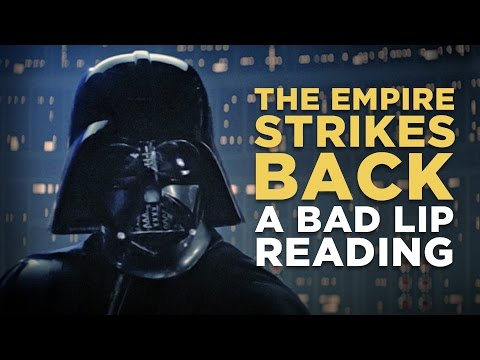 THE EMPIRE STRIKES BACK: A Bad Lip Reading