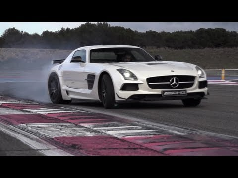 0 Gullwings of Desire: Chris Harris Samples the Mercedes Benz SLS AMG Black Series [Video]