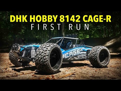 DHK Hobby 8412 Cage-R 2WD Desert Buggy First Run