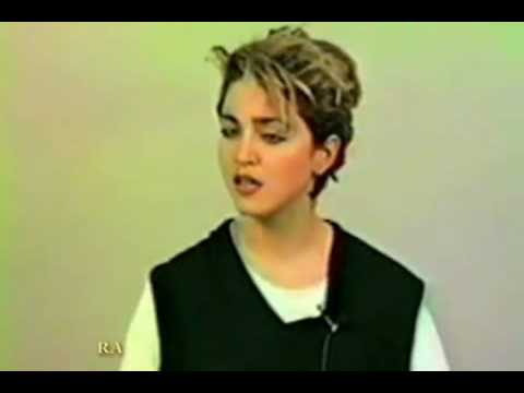 Madonna auditions for Fame!