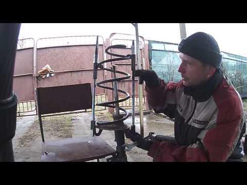 Съемник пружин своими руками фото