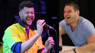 Video Calum Scott Surprises Fev & Sings In Disguise! I Fifi, Fev & Byron MP3, 3GP, MP4, WEBM, AVI, FLV Maret 2019