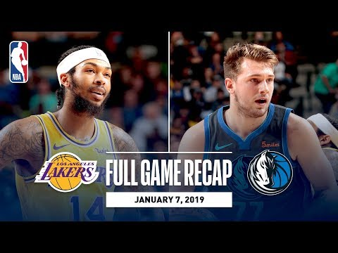 Video: Full Game Recap: Lakers vs Mavericks | Lakers Come Out Strong In Second Half