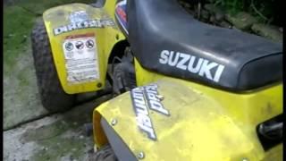 6. Suzuki LT50 Cold Start After A Year
