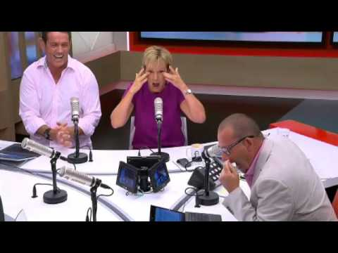 VIDEO: Radio Host Can't Stop Laughing
