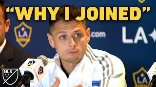 Chicharito: This Is Why I Came to LA Galaxy by Major League Soccer