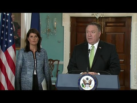 從多邊參與退卻 美國退出聯合國人權理事會[影]