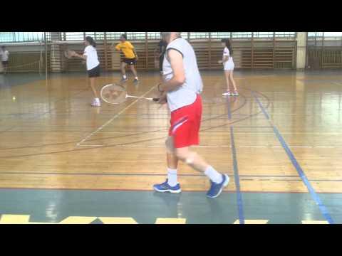 Bl kamp, para-badmintonaši u akciji