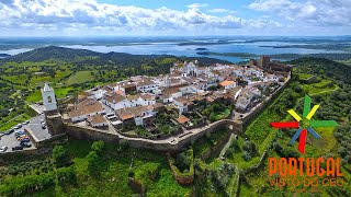Monsaraz Portugal  city photo : Monsaraz & Alqueva aerial view - 4K Ultra HD