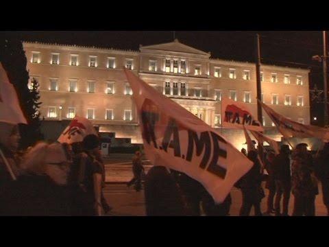 Συλλαλητήριο κατά του ασφαλιστικού από το ΠΑΜΕ