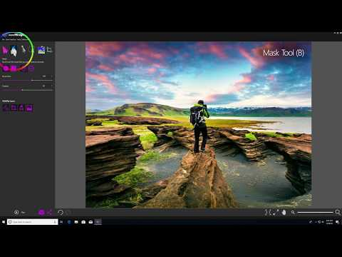 How to Use the Mask Tool in PhotoMirage