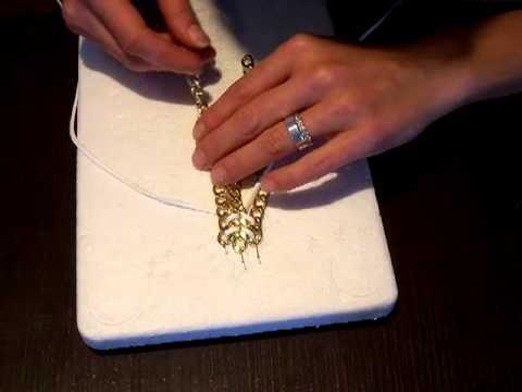 tutorial bracciale catena