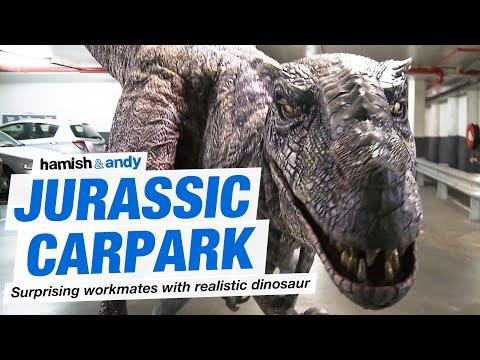 Jurassic Carpark prank!