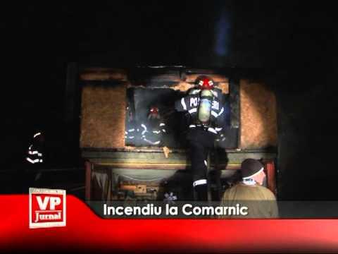 Incendiu la Comarnic
