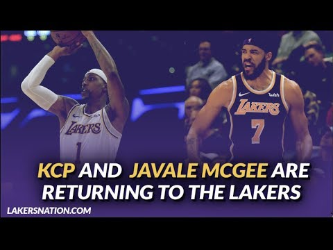Video: Lakers Free Agenc: KCP and JaVale McGee Have Agreed to Deals to Return to the Lakers