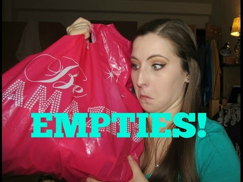 Empties #8 (March 2015) - Lots of makeup & lotions!