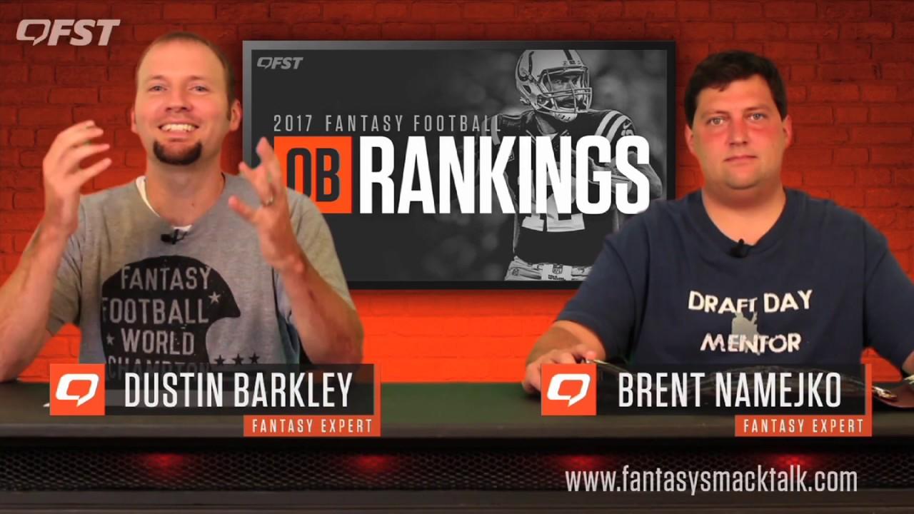 2017 Fantasy Football Quarterback Tiers and Rankings thumbnail