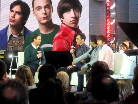 The Cast of The Big Bang Theory on CTV's eTalk Live - Part 1