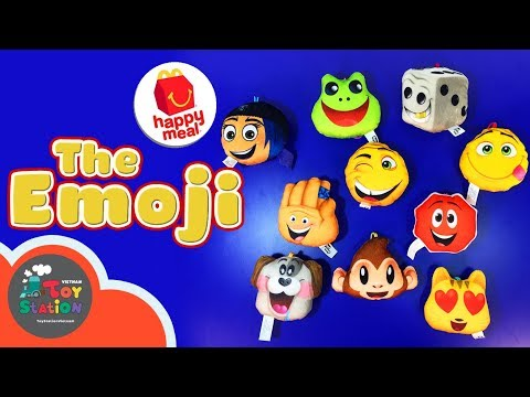 McDonald's - The Emoji, đồ chơi Happy Meal tháng 8, 2017 - ToyStation 85 - Thời lượng: 9:00.