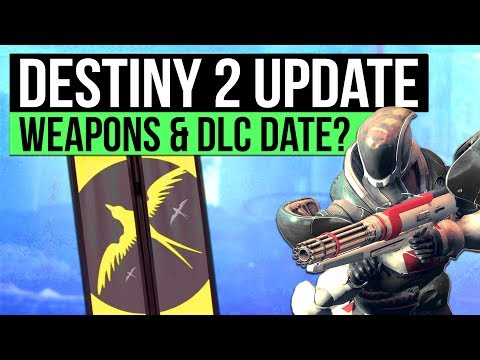 DESTINY 2 NEWS | First DLC Release Date, Weapon Shaders, Dead Zone PvP Map, P