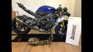 10. 2017/2018 Yamaha YZF-R6 GYTR Akrapovic Exhaust and Lightech Rearsets installed on my Track/Race Bike