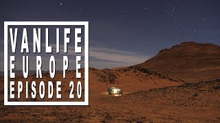 Van life Vlog: from The Sahara Desert and the Atlas