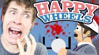 Happy Wheels - SCARY BALL THROW