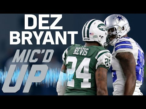 Video: Dez Bryant's Best Mic'd Up Moments with the Cowboys | Sound FX | NFL Films