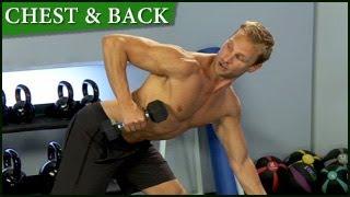 Train Smart Chest & Back Workout: Steve Jordan Train Smart Chest & Back Workout with Steve Jordan is an effective 14 minute...